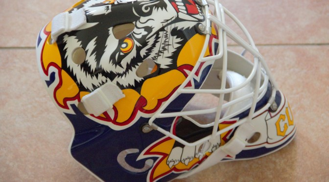 1993-94 St. Louis Blues Mask Replica – Curtis Joseph