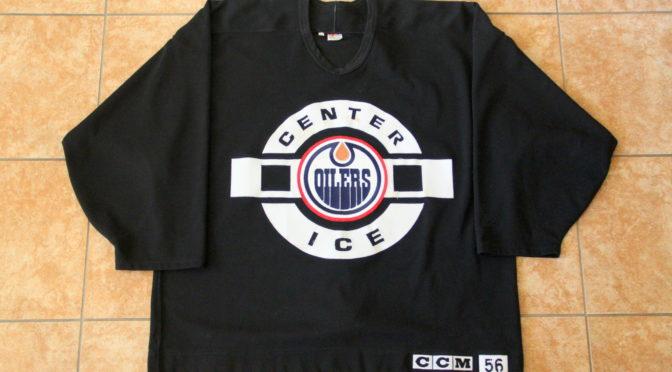 1997-98 Edmonton Oilers Jersey, Practice – Curtis Joseph