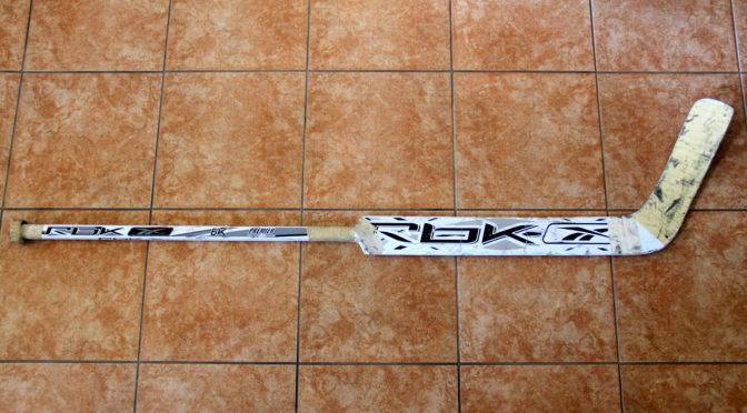 2005-07 Phoenix Coyotes Game Used Stick – Curtis Joseph