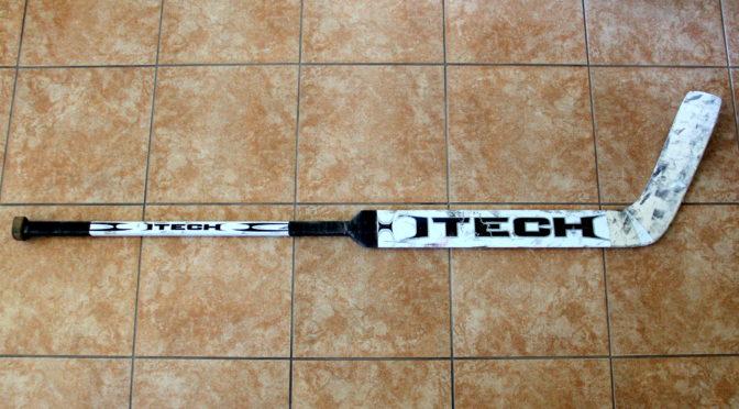 2007-08 Calgary Flames Game Used Stick #1 – Curtis Joseph