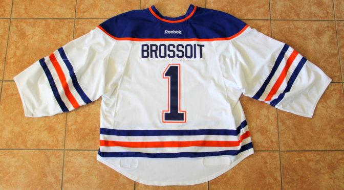 2016-17 Edmonton Oilers Jersey, Set 1 Away – Laurent Brossoit
