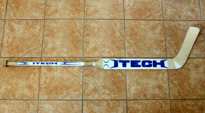 2008-09 Toronto Maple Leafs Game Used Stick #2 – Curtis Joseph – (Early Season Model)