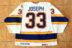 1989-90 St. Louis Blues Jersey, Preseason, Home – Curtis Joseph
